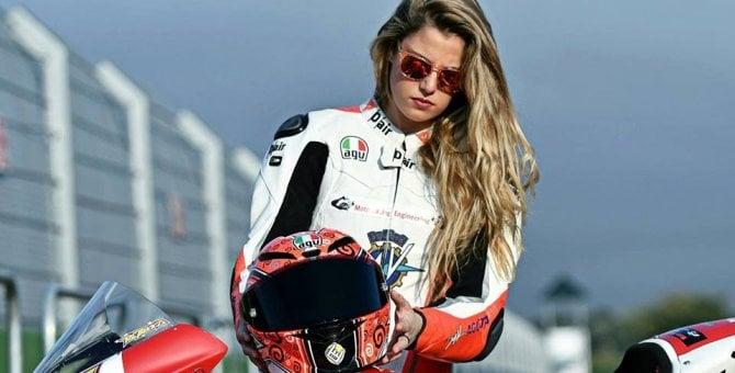 """Rebecca Bianchi, il """"fiorellino"""" torna in pista"""