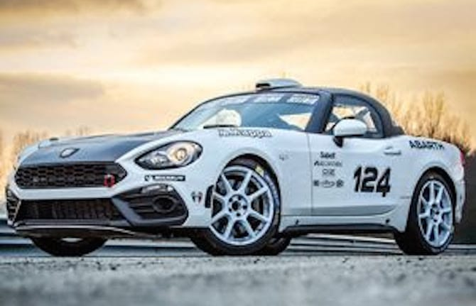 Trofeo Abarth 124 rally: ecco il calendario