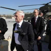 Iraq, Mattis in visita a Bagdad.