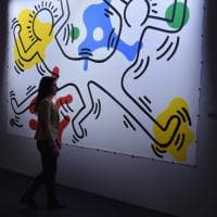 """Keith Haring, about art"", 110 opere a Palazzo Reale"