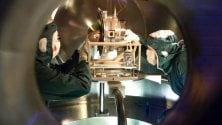 Nel cuore di Virgo, cacciatore di onde gravitazionali   Foto   /   Video  1     -     2