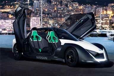 Margot Robbie testimonial della mobilità elettrica Nissan