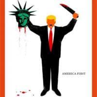 La stampa contro Donald Trump: le copertine più irriverenti sul tycoon