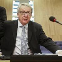"""Brexit, Juncker: """"Negoziato lungo e difficile. Per Londra il conto sarà salato"""""""
