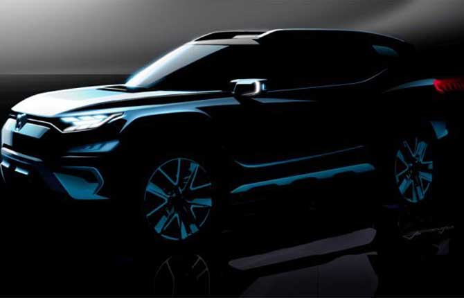 "Ssangyong ""Xavl Concept"", il debutto a Ginevra"