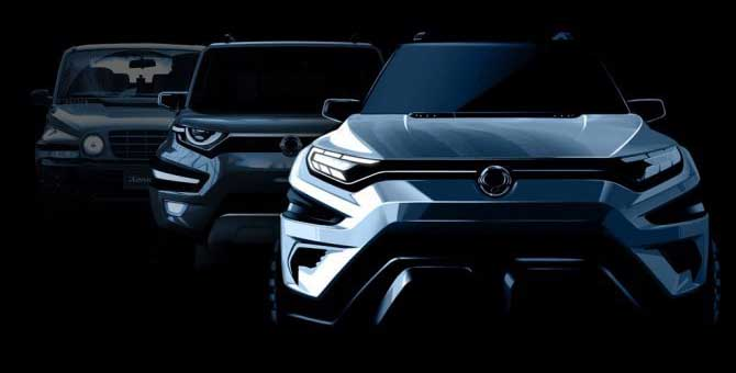 """Ssangyong """"Xavl Concept"""", il debutto a Ginevra"""