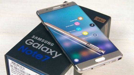 Galaxy Note 7, il ritorno: nuova vita con un'altra batteria