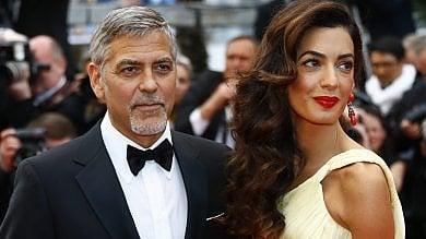 """""""Due gemelli, che grande avventura"""": l'emozione di papà George Clooney"""