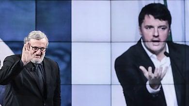 """Renzi dagli Usa : """"Litigano sul nulla, io qui penso al futuro""""   Numeri incerti  in Parlamento per i bersaniani"""