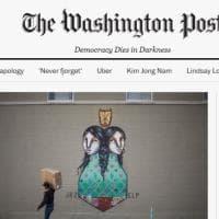 """Il WP cambia la testata: """"La democrazia muore nel buio"""""""