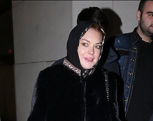 """Lindsay Lohan fermata all'aeroporto """"Ero sospetta perchè indossavo una sciarpa"""""""