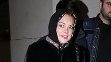 """Lindsay Lohan fermata a Londra: """"Sospetta a causa della mia sciarpa"""""""