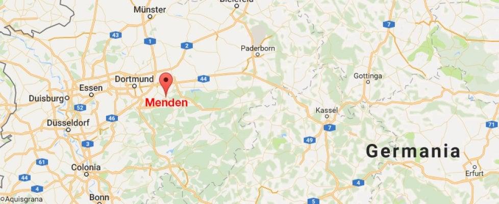 Dortmund Germania Cartina.Germania Falso Allarme Per L Attacco Alla Scuola Di Menden La Repubblica