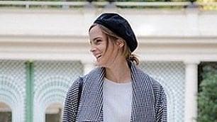 """Emma Watson, abiti eco-friendly  per il tour della """"Bella e la Bestia"""""""