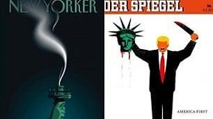 La stampa contro Donald Trump:  le copertine più irriverenti