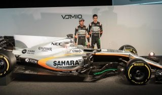 "F1, svelata la nuova Force India: ""Saremo terzi tra i costruttori"""