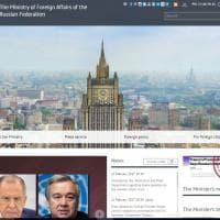 Russia, il ministero degli Esteri contro le bufale online