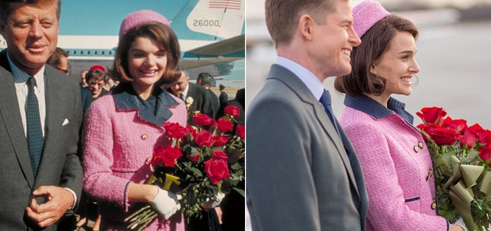 Jackie Kennedy e Natalie Portman: quando l'abito fa il personaggio
