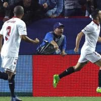 Champions League: Siviglia-Leicester 2-1, Vardy salva Ranieri