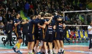 Volley, SuperLega: volano Trento, Perugia e Verona