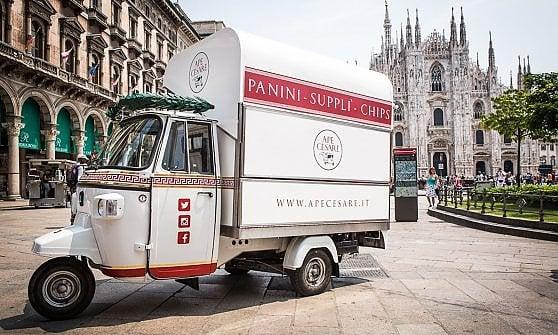 Street food: da Roma alla conquista di Milano con un'ape e tanti supplì