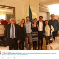 Renzi a San Francisco: dal ristorante italiano al circolo del Pd