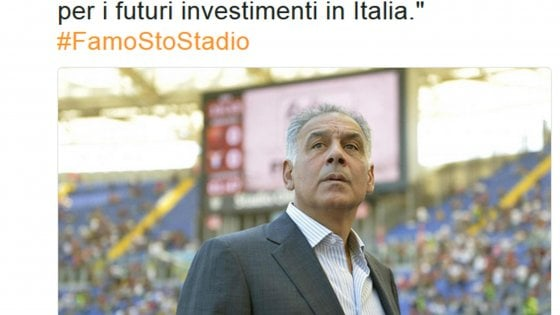 """Roma e la """"catastrofe"""" di Pallotta: senza stadio via tutti i big"""