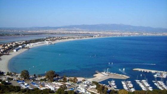 Cagliari e i suoi quattro chilometri di arenile