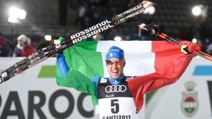 Pellegrino è oro mondiale nello sprint tecnica libera   foto