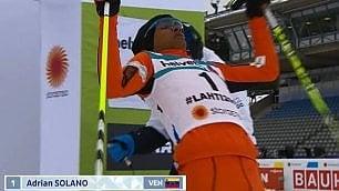 Solano, lo sciatore venezuelano che non è mai stato sulla neve