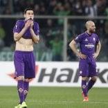 Disastro Fiorentina: è fuori  Roma perde ma va agli ottavi