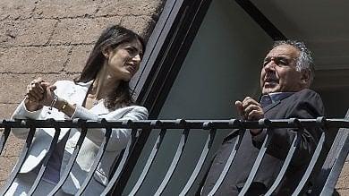 Raggi dimessa dopo malore   video     foto   partecipa a vertice su stadio della Roma