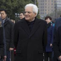 """Mattarella: """"No alle guerre commerciali, con unilateralismo rischio rottura globale"""""""