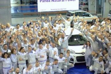 Panda record: a Pomigliano prodotta la Natural Power numero 300 mila