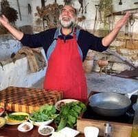 Giorgione, il gigante gentile che cucina sulle colline del Sagrantino