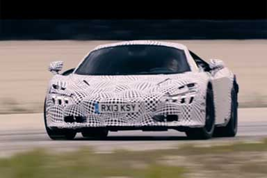 Nuova McLaren Super Series, l'esordio si avvicina