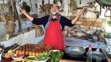 Giorgione, il gigante buono che cucina sulle colline dell'Umbria   di MAURIZIO AMEDEO ULIANO