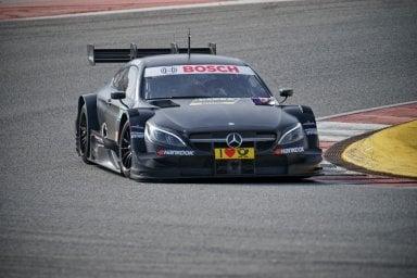 Mercedes-AMG C 63 DTM, ultimi test prima dell'omologazione