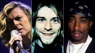 Bowie, Cobain & Co: lettere e messaggi con i segreti delle rockstar