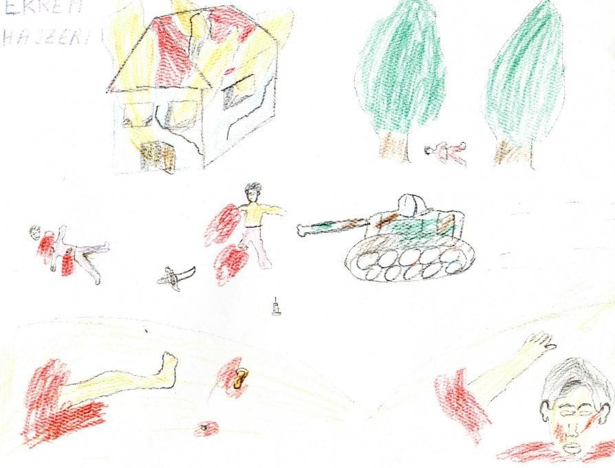 Kosovo Il Racconto Di Chi Era Bambino L Orrore Nei Nostri Disegni