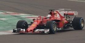 """Vettel promuove la Rossa  ''Un deciso passo avanti""""   vd"""