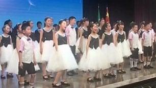 Bimbi cinesi cantano 'Forza Gesù'  in italiano per Mattarella