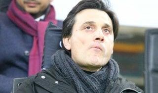 """Milan, Montella: """"Con gli errori arbitrali siamo in credito"""""""