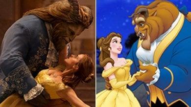 La Bella e la Bestia adesso sono 'vere': Disney rilegge il cult d'animazione   video