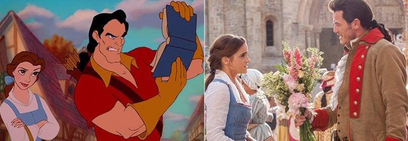 La Bella e la Bestia sono 'vere': Disney rilegge il cult  Trailer  -  Fotoconfronto  -  Tappeto rosso