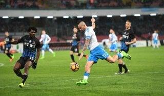 Le pagelle di Napoli-Atalanta: Hamsik non pervenuto, Caldara mattatore