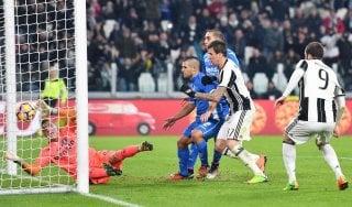 Juventus-Empoli 2-0, Mandzukic e Alex Sandro stendono gli azzurri