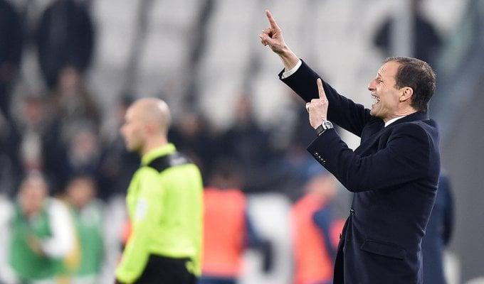 """Juventus, Allegri: """"Per lo scudetto è ancora lunga"""""""