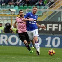Palermo-Sampdoria, il film della partita