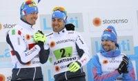 Pellegrino-Noeckler super Italia argento nel team sprint